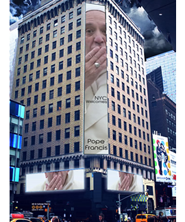 Pope Francis In NYC